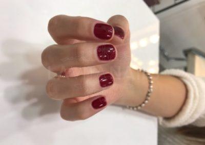 manicura-zaragoza-la-vita-nails-permanente-roja-sencilla
